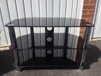 Glass TV Stand - £30
