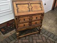 Vintage cupboard or writing desk £55