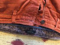 Re: Orange Ted baker cords