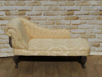 Chaise Lounge Cream (Delivery)