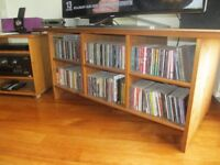 TV Table in light coloured pine