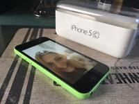 I phone 5 c, green 8 gb unlocked