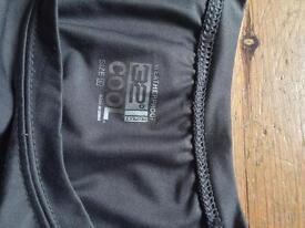 Costco men's active t shirt grey size L