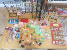 key rings and display stands