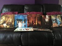 ABBA LPs. collection of six. Nolan LPs and a few more