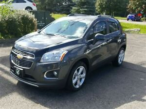 2015 Chevrolet Trax LTZ AWD LEATHER SUNROOF!!!