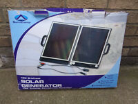 Sunncamp 13w Briefcase Solar Panel Generator for caravan motorhome camping