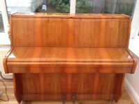 ZENDER UPRIGHT PIANO 1 OWNER