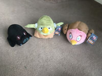 Angry Birds Start Wars soft toys