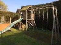 Dunster house climbing frame (SSTC)