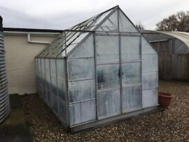 Commercial Greenhouse With Heated Benches + Mist/Wean Unit, 12ft 2 x 8ft 2inches VGC
