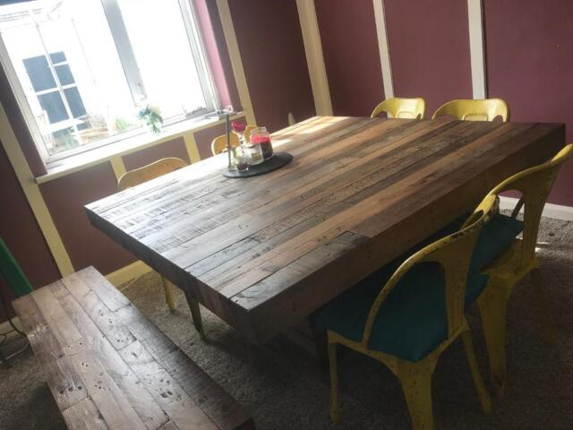 Tremendous Barker Stonehouse San Quentin Tahoe Square Dining Table Bench In Stockton On Tees County Durham Gumtree Gmtry Best Dining Table And Chair Ideas Images Gmtryco