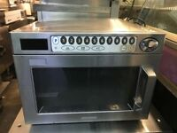 COMMERCIAL CATERING EQUIPMENT MICROWAVE OVEN FAST FOOD TAKE AWAY RESTAURANT CHICKEN KEBAB BBQ BAR
