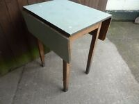 Small Square Drop Leaf Table Delivery Available
