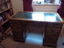 Ducal Victoria Solid Pine Desk