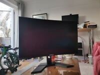 Gigabyte G32QC 1440P 165Hz Curved Gaming Monitor