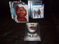 9 TV SERIES / 29 MOVIES - DVD's (all original / exc. condition) classic / cult / comic book