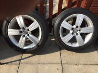 4-17 inch Audi TT alloys great condition.