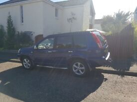 Nissan X trail 12 months MOT, great looking car.