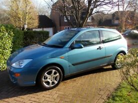 Ford focus 2001 tidy inside and out