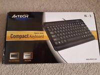 A4Tech Compact Keyboard for sale - BNIB