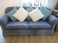 Multiyork 3 Seater Sofa-blue