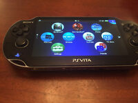 PS Vita Portable Console, Wifi Connection With Original Box & Charger