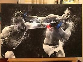 2 UFC Canvases (Mint Condition) - Ideal Christmas Present