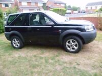 2002 Land Rover Freelander S 1.8, Excellent condition, Spares or repairs