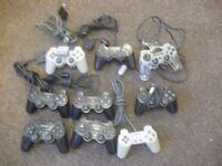 6 Playstation Pads