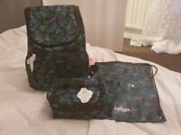 Brand New Smiggle Backpack, Lunch Bag and PE/Swim Bag