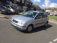 Automatic 2003 VW Polo 1.4 petrol 5 Doors New shape low millage only 75000 miles