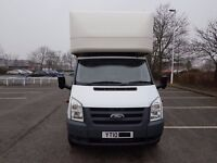 FORD TRANSIT VAN - LUTON WITH TAIL LIFT - NEW SHAPE - T350 - 115 BHP 2010 (10) - £7,995 NO VAT