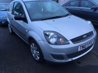 2007 Ford FIESTA 1.2 , mot - June 2018 , only 62,000 miles , 2 owners ,clio,corsa,punto,jazz,polo,