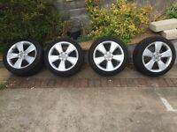 "Audi A3 8V 17"" Genuine Alloys with Tyres"