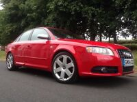 2005 AUDI S4 QUATTRO 4.2 V8 AUTO RARE 1 OWNER FROM NEW FULL AUDI HISTORY RARE TOTALLY STANDARD CAR