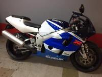 For sale Suzuki gsxr 750 x srad