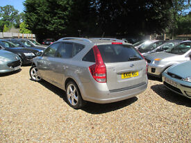 KIA CEED ESTATE 1.6 DIESEL AUTOMATIC LOW MILES 5 SERVICE STAMPS 1 YEAR MOT 3 MONTHS WARRANTY
