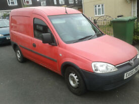 2005 Vauxhall Combo 106,000 miles 11 months MOT