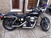 Harley dyna 1340 evo low rider 1998
