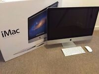 "27"" Apple iMac Decktop Core 3.06Ghz 4gb 1Tb Logic Pro X Cubase FL Studio Ableton Izotope Mastering"