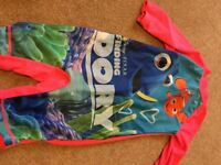 Finding dory swimsuit 4-5 years