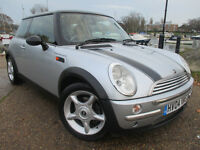 2004 MINI COOPER 1.6 CHILLI PACK *HALF LEATHER* S D ONE 1.4 VW POLO GOLF