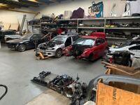 Breaking various BMW models for parts spares - 1 3 5 series - E36 E39 E46 E53 E87 E90 E92 118d 320i
