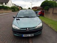 Peugeot 206 LX D *New tyres fitted