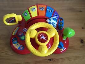 VTech Tiny Tot Driver Toy