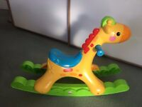 Fisher Price Rocking Giraffe with lights and music