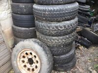 195/15 tyres 6x free to collector.