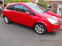 Vauxhall Corsa D SXI A/C 2009 Low Miles 49800. 3 former keepers cheap £1700 no offers drive away