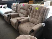Brand new disability rise and recline chairs